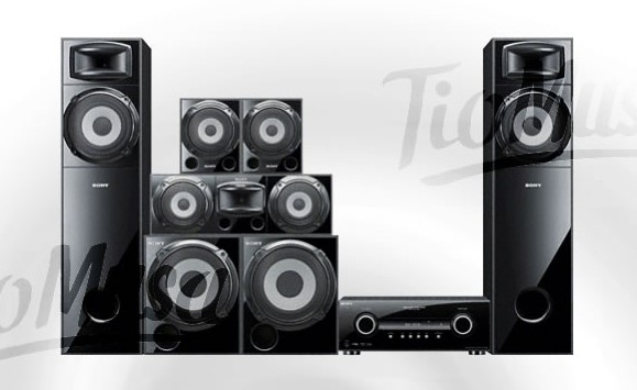 Sony mu te ki lovers mini muteki ddw 3500 1190 watts for Mueble muteki 5 2