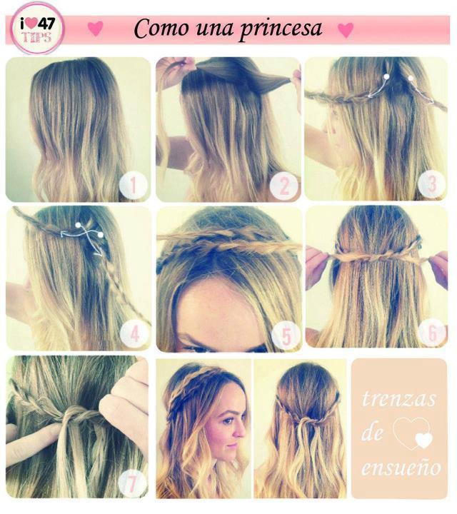3 peinados FACILES YouTube