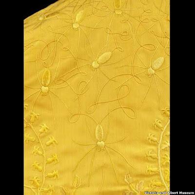 اللون الذهبي, قطعة القماش , اللون الطبيعي للحرير,