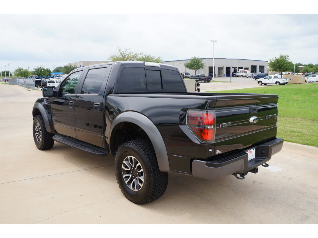 Used 2012 ford f 150 svt raptor tuxedo black truck tdy sales tdy sales dfw dallas fort