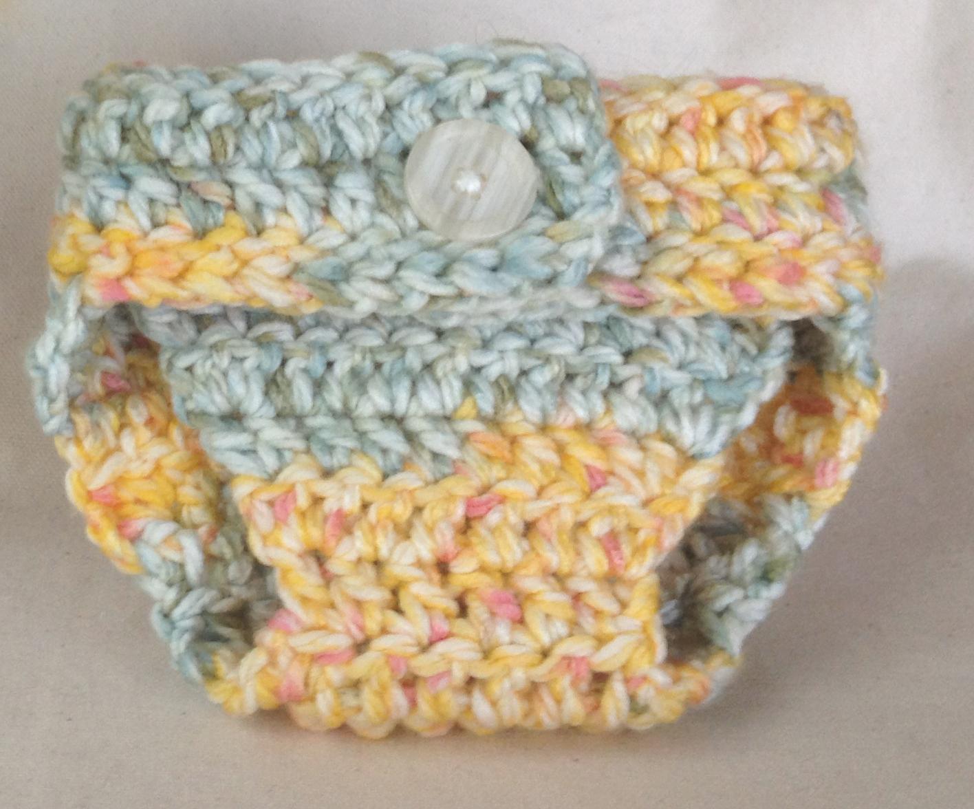 Meet Mehaff Way: Pattern: Easy Crochet Chunky Diaper Cover (0-3 Months)