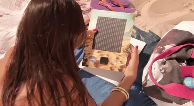 Un anuncio de Nivea recarga tu móvil con energía solar
