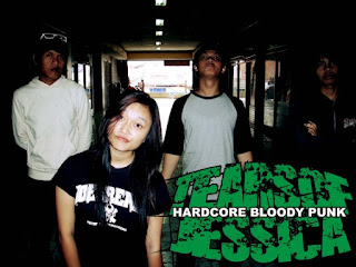 Tears Of Jessica Band Hardcore Bloody Punk Bandung