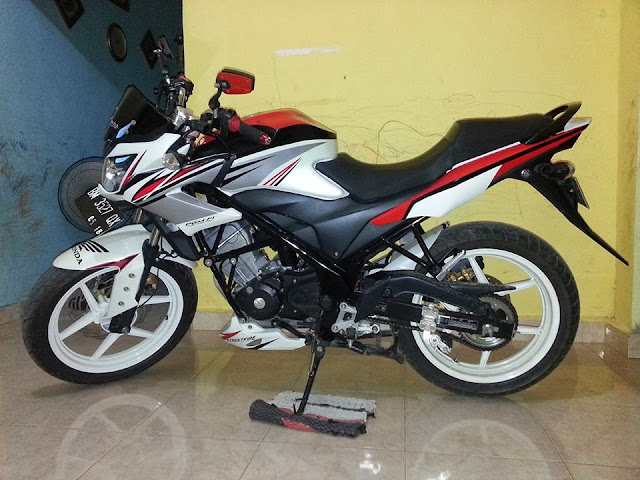 Modifikasi Honda CB150R Streetfighter title=