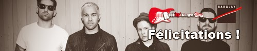 concours fall out boy american beauty american psycho rock'n'live barclay gagnants