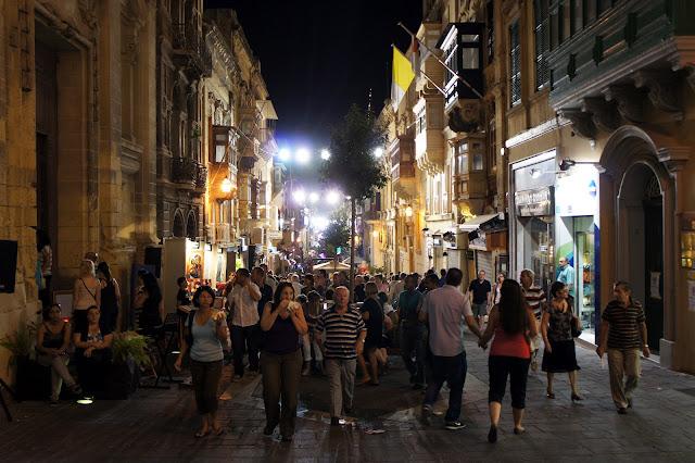 notte bianca 2012 merchant street valletta malta