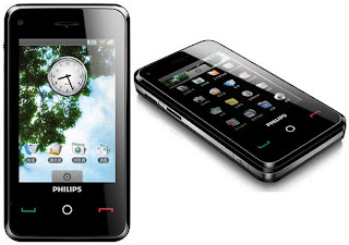 Philips V808 Latest smart Full touchscreen phone