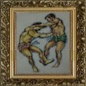 Rakhine wrestling
