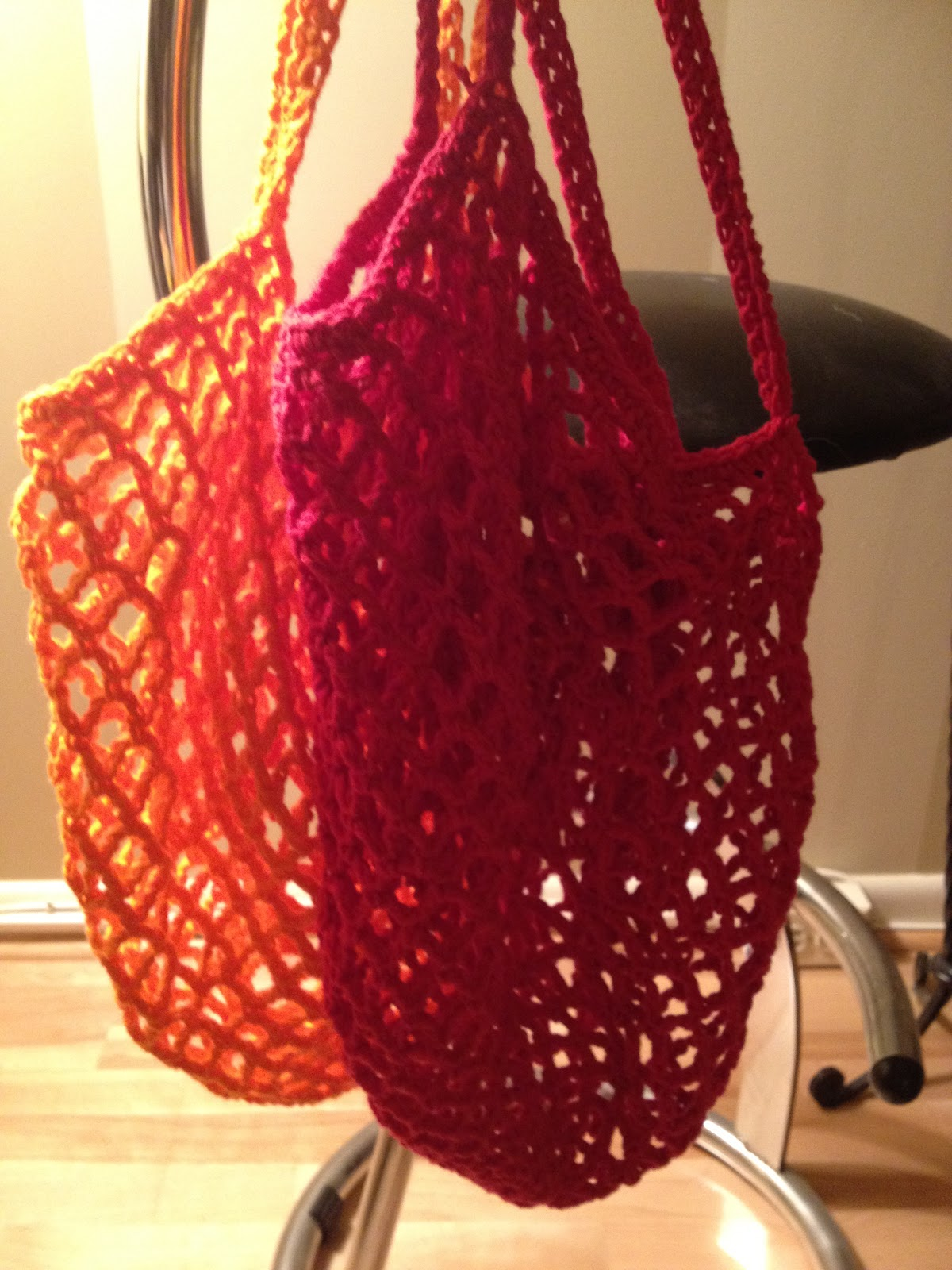 Crochet Grocery Bag : Tales from Trish: MOOORE Crochet Grocery Bags