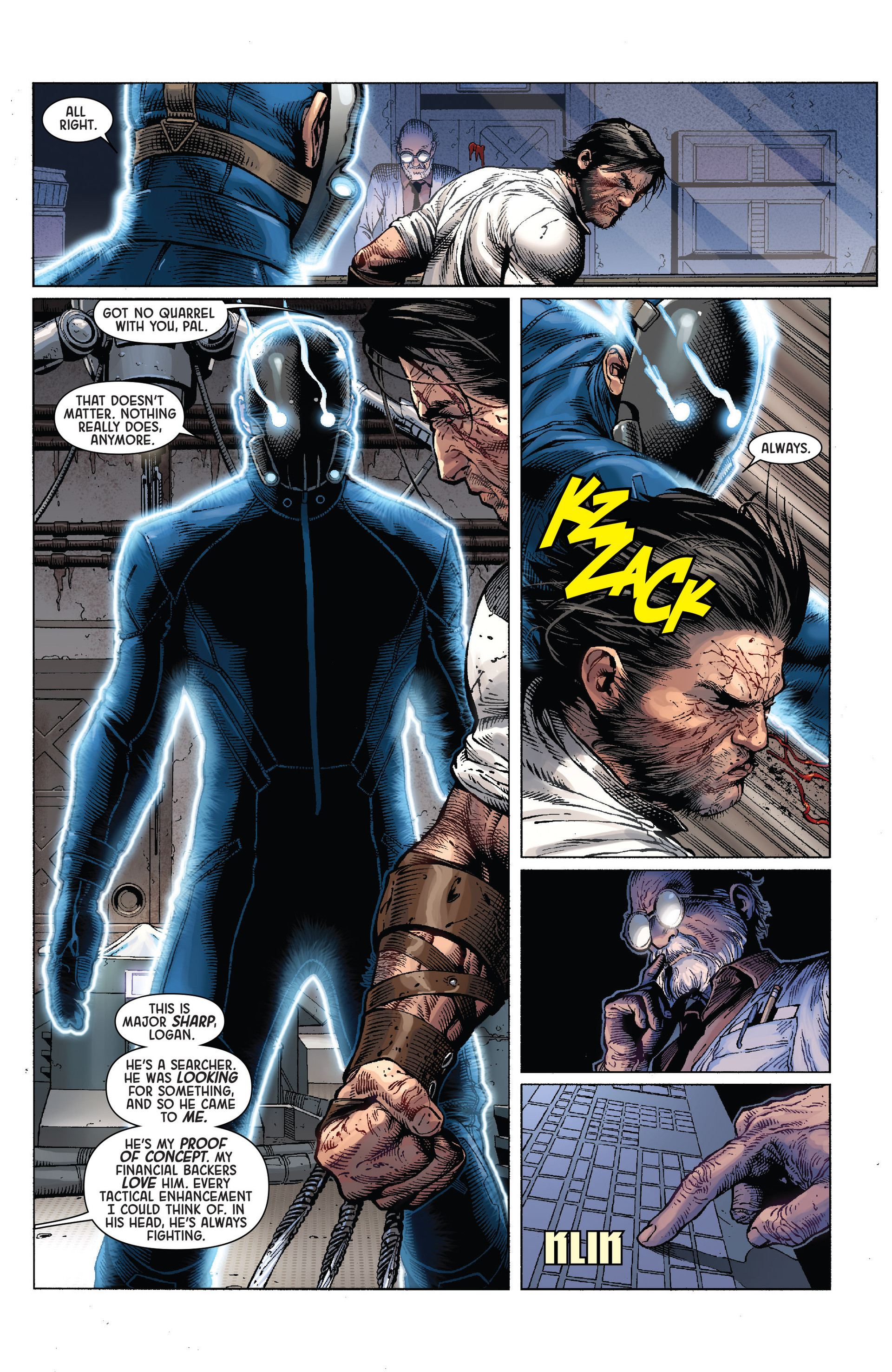 Death of Wolverine Issue #4 #4 - English 11
