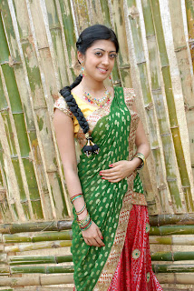 Pranitha latest  saree stills 01.jpg