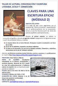 CLAVES PARA UNA ESCRITURA EFICAZ (II)