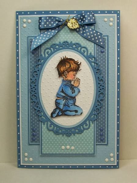 ODBD Precious Boy, Customer Card of the Day diannep575