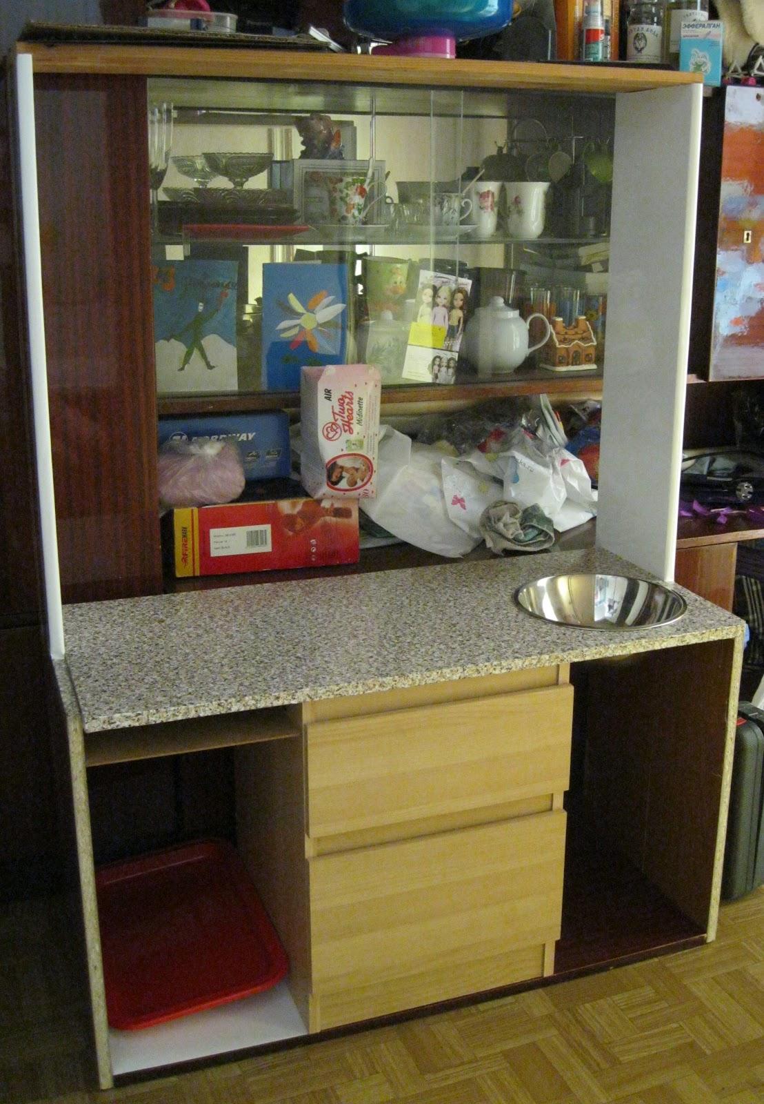 Кухни детские своими руками из старой мебели фото 810