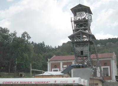 Unirea Salt Mine Entrance, Salina Veche, Mina Unirea, Slanic Prahova, Romania