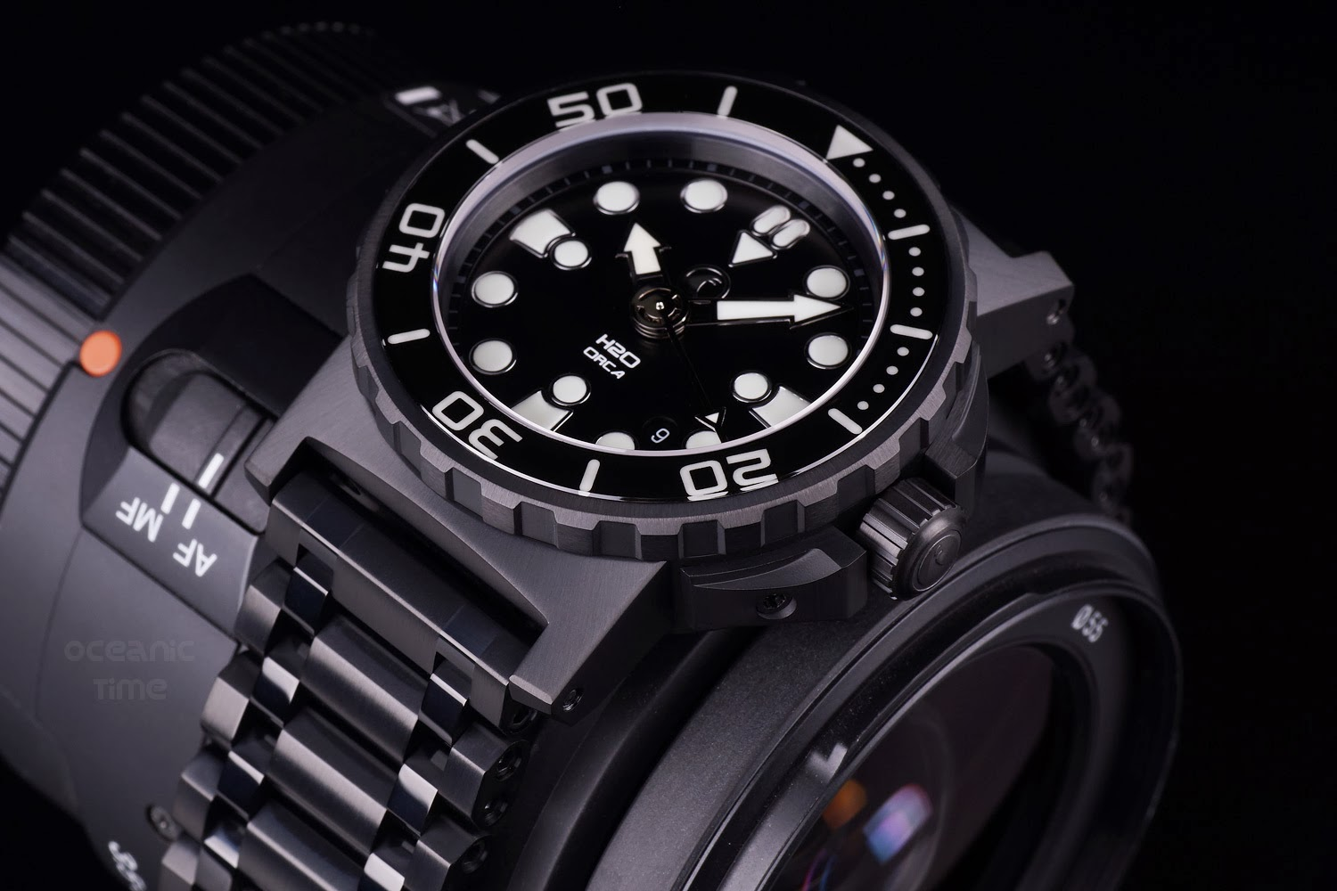 watches matte ocean gnomon ceramic steinhart exclusive dlc