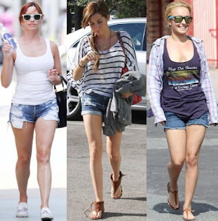 Short Jeans for Women 2012
