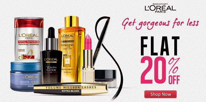 Nykaa : Flat 25% off on Beauty & Grooming Products of loreal, neutrogena, lakme, braun for men and women + nykaa cashback from buytoearn