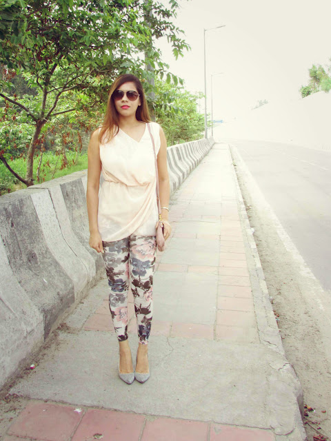 floral leggings, fashion, ericdress, chiffon dress, how to style floral legging, summer fashion trends 2015, summer must haves, casual summer ourfit, watercolor print leggings, indian fashion blog, aviators sunglasses, beauty , fashion,beauty and fashion,beauty blog, fashion blog , indian beauty blog,indian fashion blog, beauty and fashion blog, indian beauty and fashion blog, indian bloggers, indian beauty bloggers, indian fashion bloggers,indian bloggers online, top 10 indian bloggers, top indian bloggers,top 10 fashion bloggers, indian bloggers on blogspot,home remedies, how to