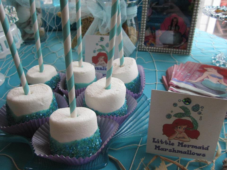 also made Giant Marshmallow pops with sugar, crispy treats, sugar ...