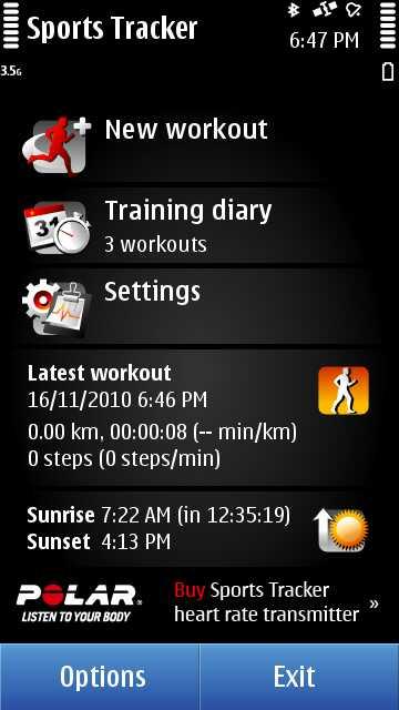 Sport Tracker 2