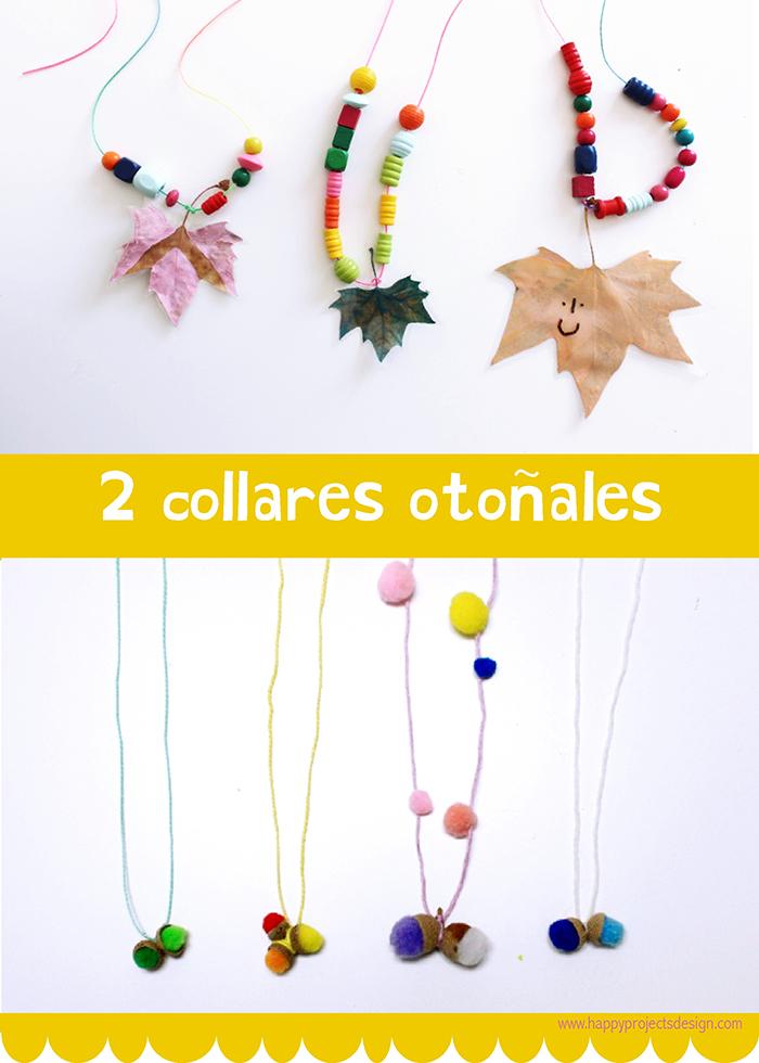 DiY collares Otoñales