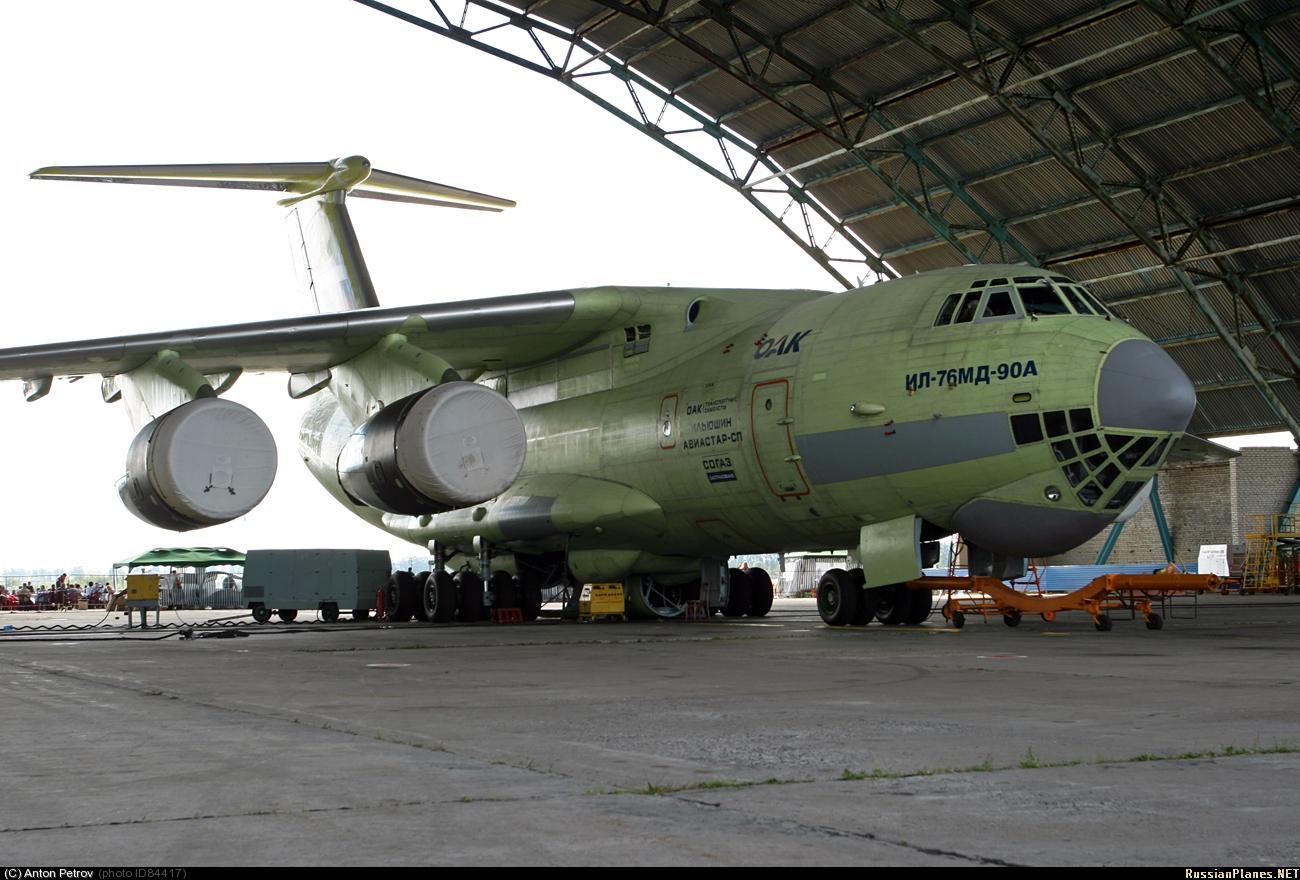 Ilyushin Il-476, un avion con gran potencial de exportacion