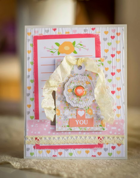 Meredith MacRitche Chickniddy Twirly Girly Card