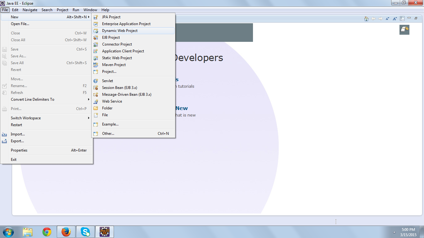 Servlet Example in exclipse