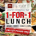 Lenas: 1 For 1 Weekday Lunch Promotion