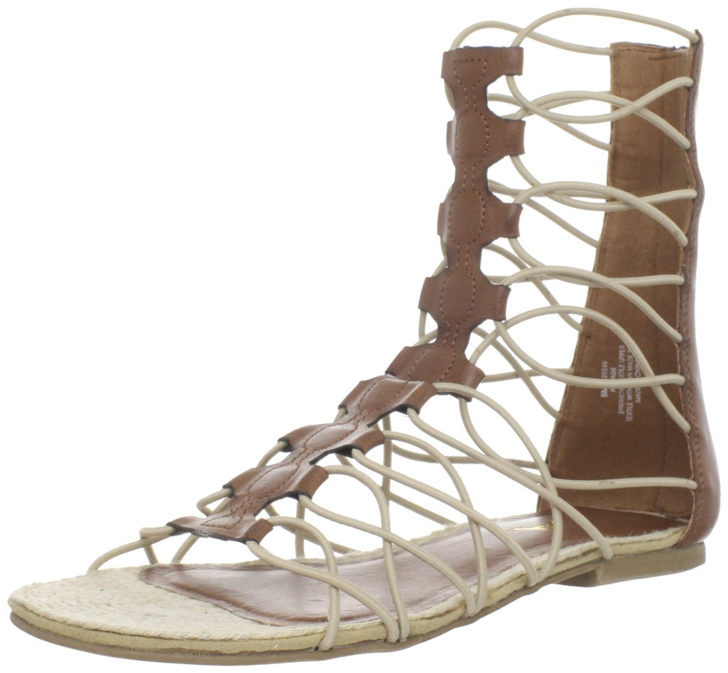 Unique  Gladiator Sandals Emozioni Axwell Women Leather Gold Gladiator Sandal