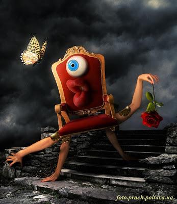 Бабочка (сюрреализм в стиле Сальвадора Дали)