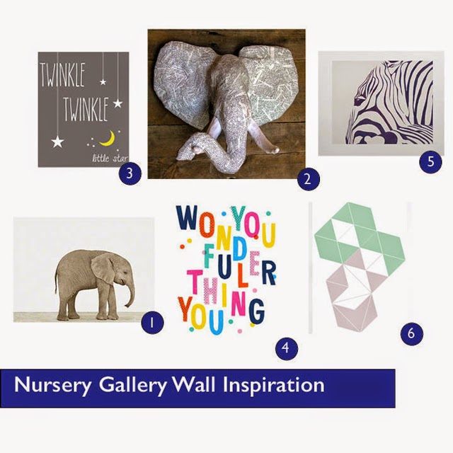 Nursery Gallery Wall Inspiration