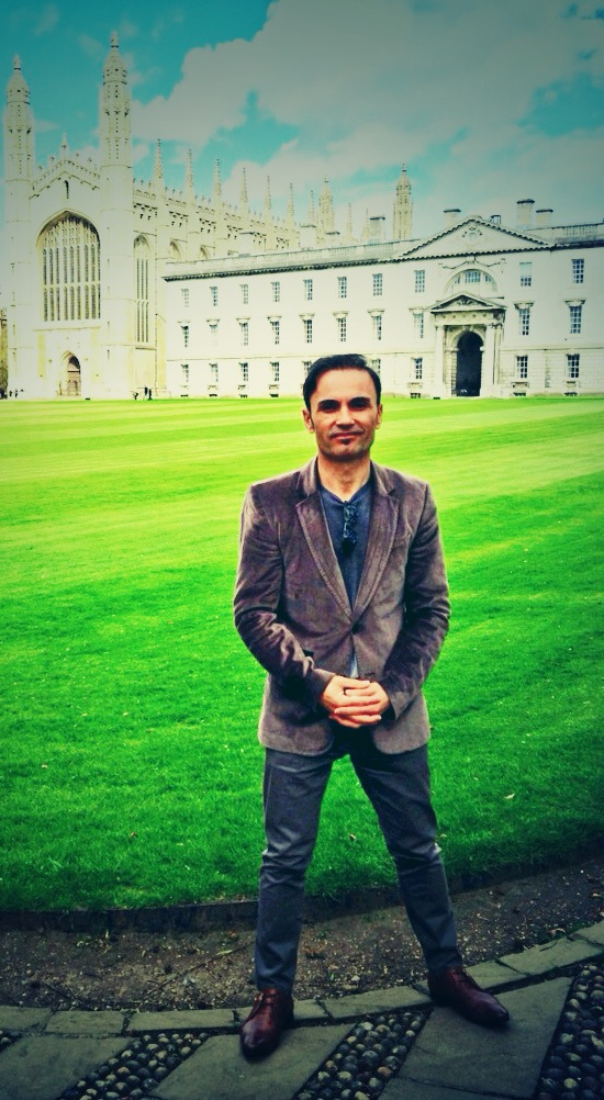 At University of Cambridge in England