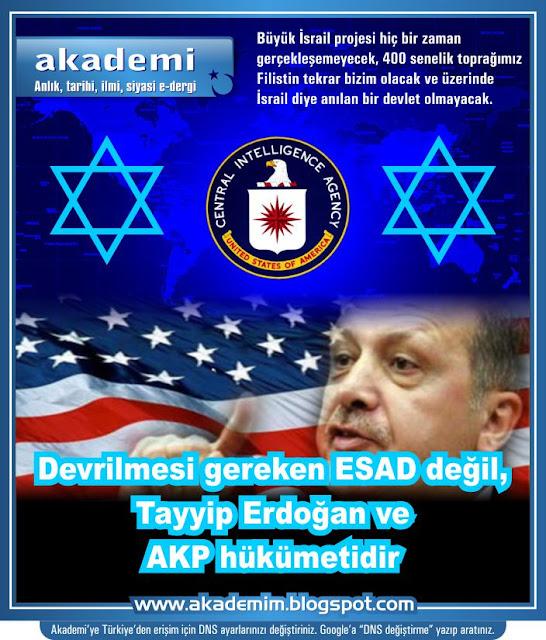 Devrilmesi gereken ESAD değil, BOP eşbaşkanı Tayyip Erdoğan ve AKP hükümetidir