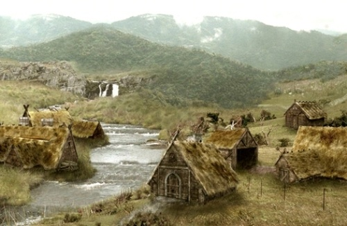 The Vikings, those hoaryviking city