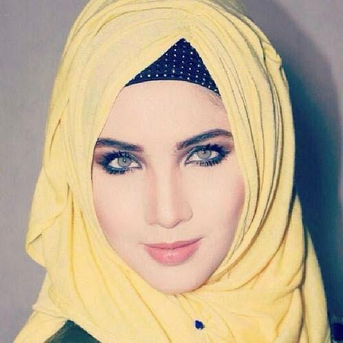 Photos des filles avec foulard
