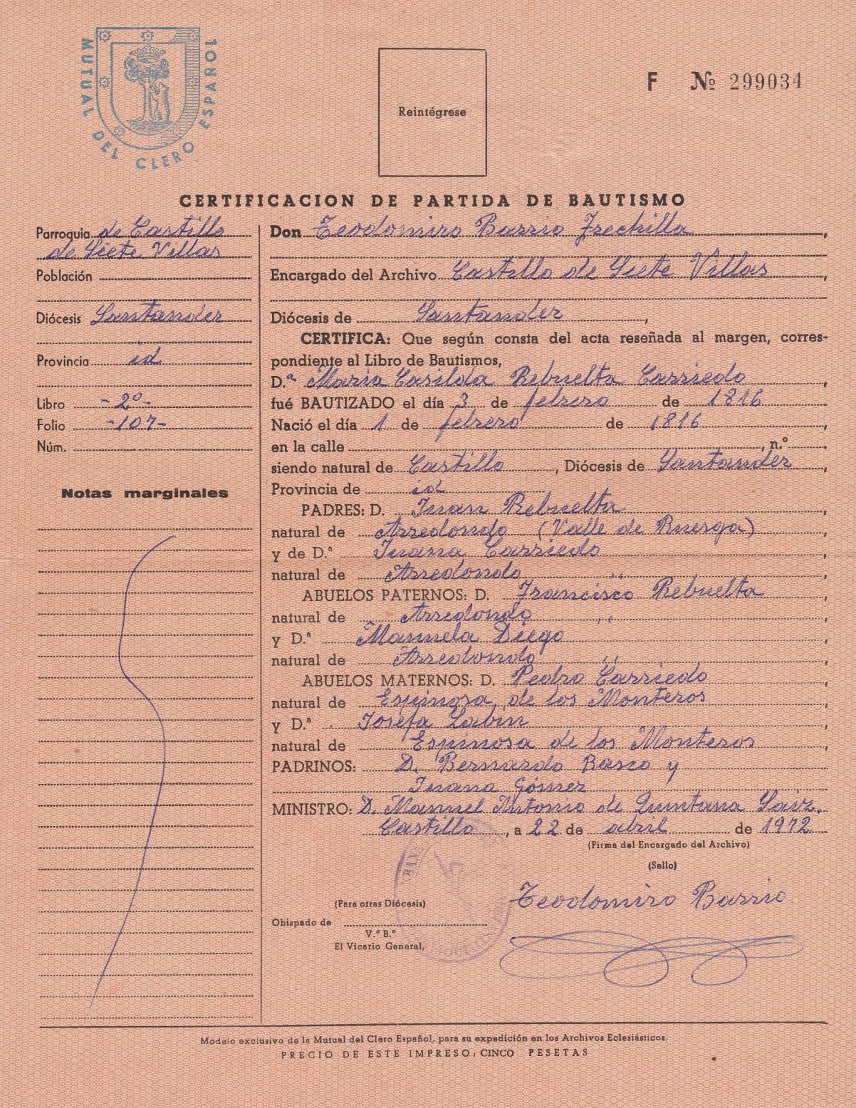 Increíble Certificado De Nacimiento Chennaicorporation.Gov.In Friso ...