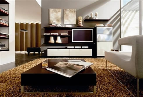 modern latest Furniture: Modern living room furniture designs ideas