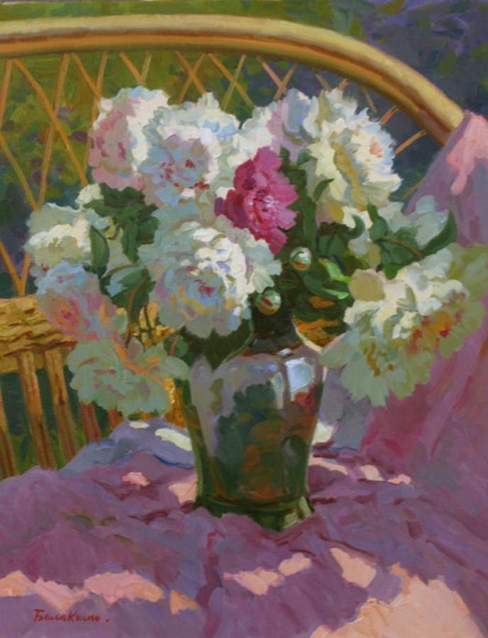 Im genes arte pinturas canastas y jarrones con lindas - Jarrones decorativos para jardin ...