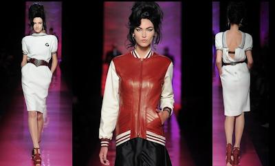 jean paul gaultier tribute to Amy Winehouse