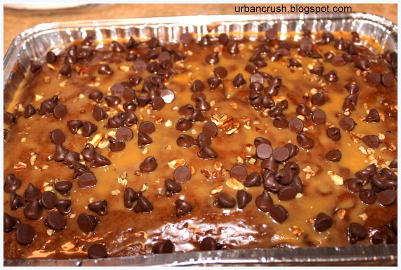 Turtle cake recipe scratch