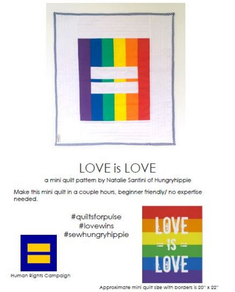 free Equality Quilt PDF