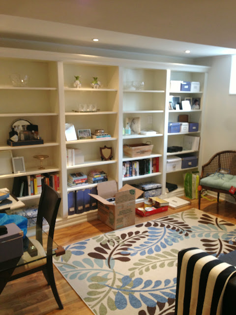 simcoe street home office built in billy bookcases