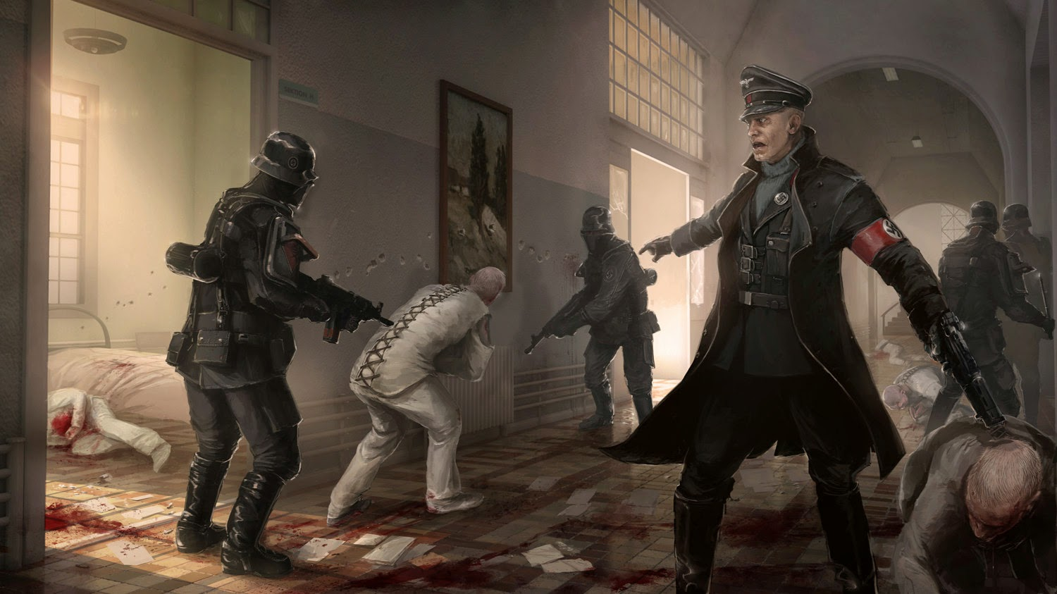 wolfenstein the new order artwork wallpapers - Wolfenstein The New Order Artwork Hd Wallpapers