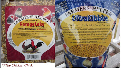 Farmer's Helper products, such as Forage Cake and UltraKibble