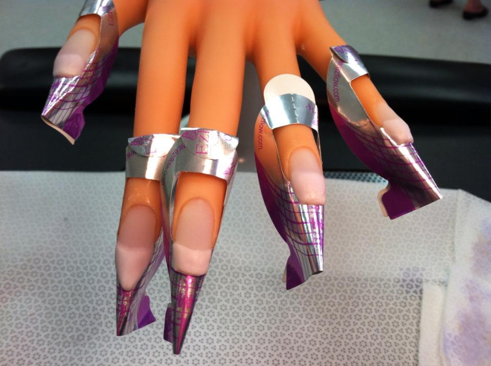 Enchanting Free Form Nails Mold - Nail Art Ideas - morihati.com