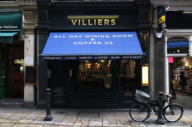 Villiers All Day Dining Room London