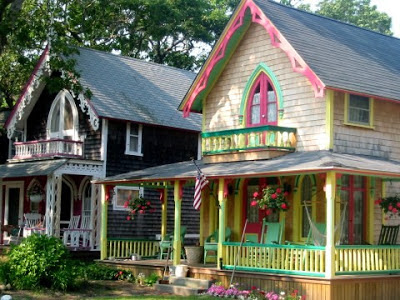 Gingerbread Cottages of Martha's Vineyard