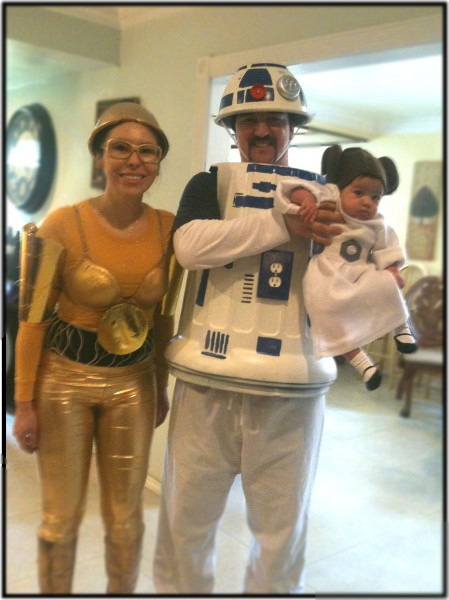 R2d2 And C3po Costumes Miss Lovie: C3P...